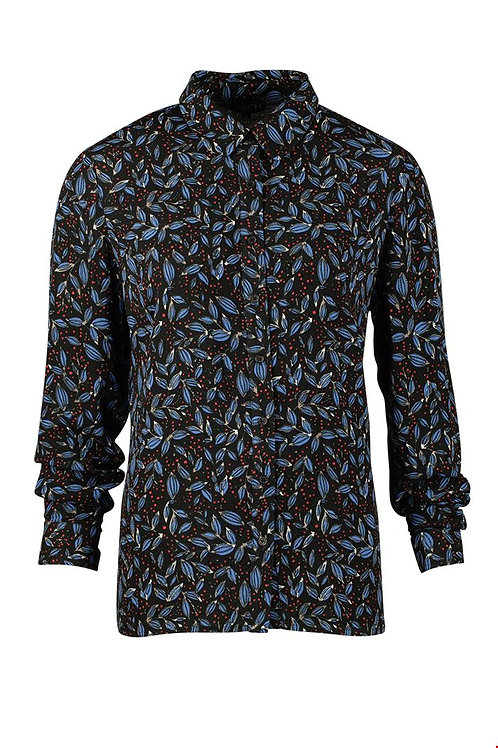 Zilch blouse in leaves print