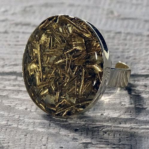 Factory Floor Jewels Swarf Ring