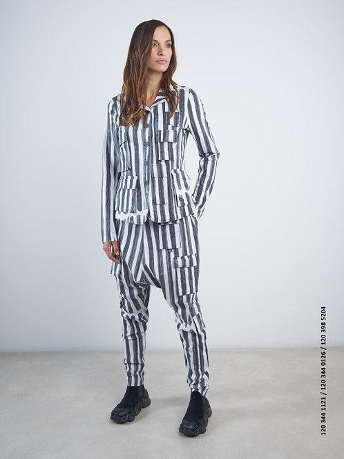 Rundholz Black Label Stripe Harem Pant