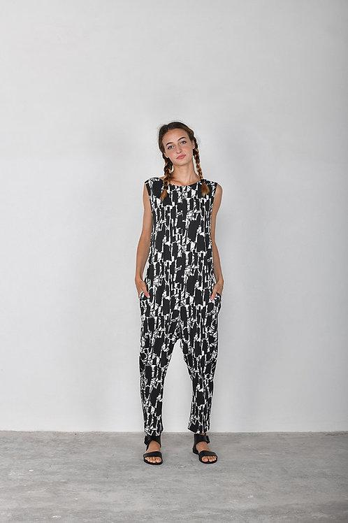 Mama b Bizet jumpsuit 'Izmir' print