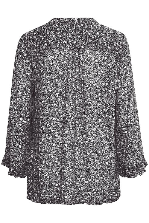 Part Two Bitta blouse navy floral print