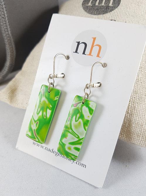 Nadege Honey Grassy Earrings
