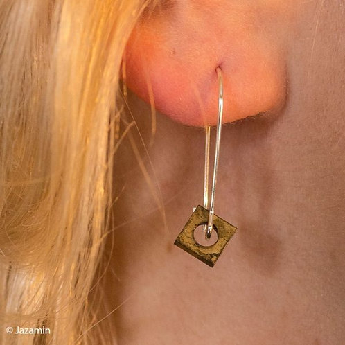Factory Floor Jewels Nuts ear wires