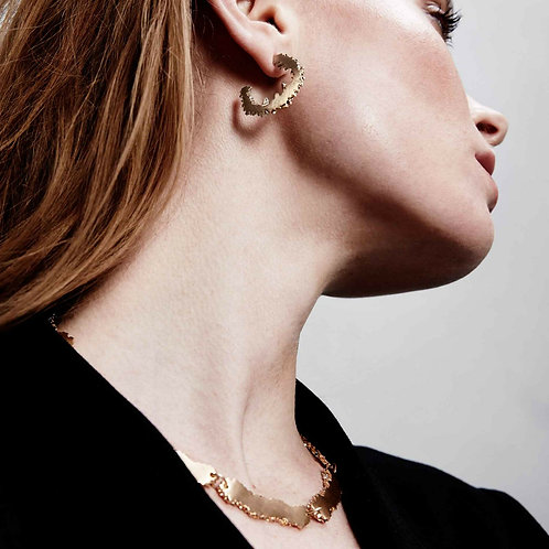 Dansk Smykkekunst Edge Earrings
