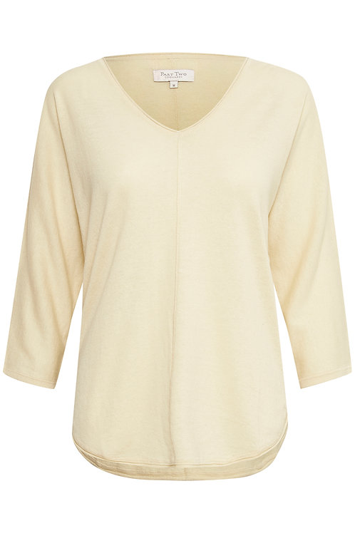 Part Two Hido cotton knit top