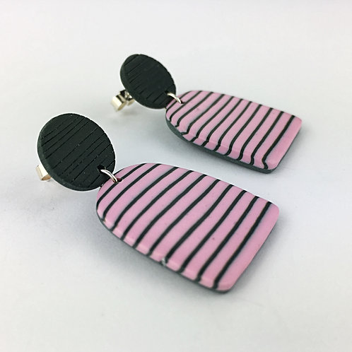 Nadege Honey Breton Drop Earrings
