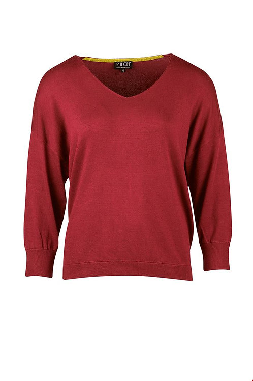 Zilch bamboo v-neck sweater