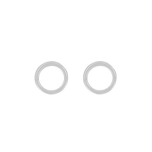 Dansk Smykkekunst Infinity Circle Earrings