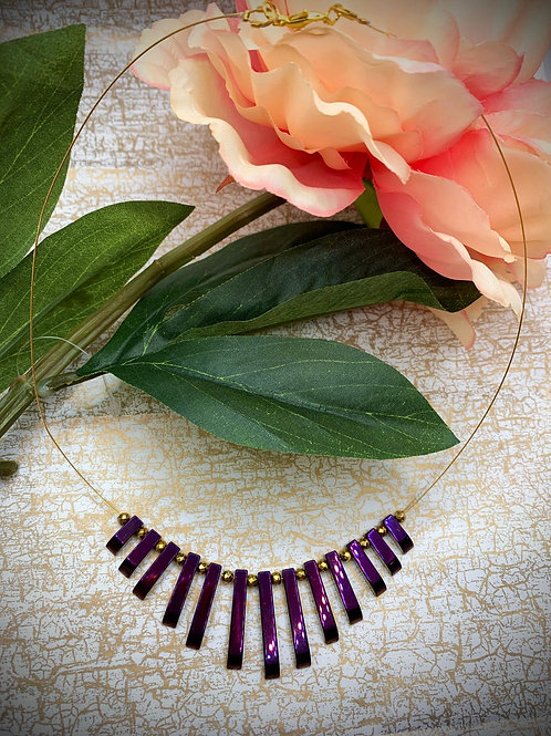 Emma Parker Jewellery Alicia Necklace Hematite