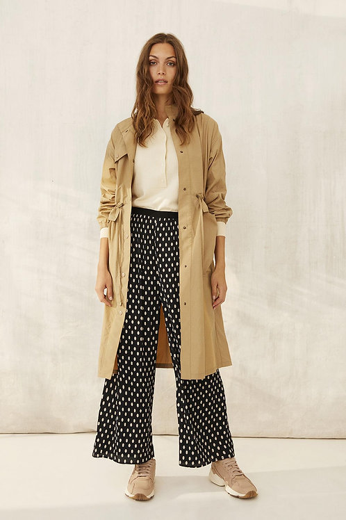 Part Two Valene cropped pleated pant
