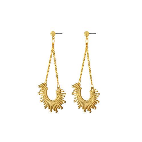Dansk Smykkekunst Shimmer Sun Earrings