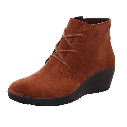 Legero Divine boot in cognac suede