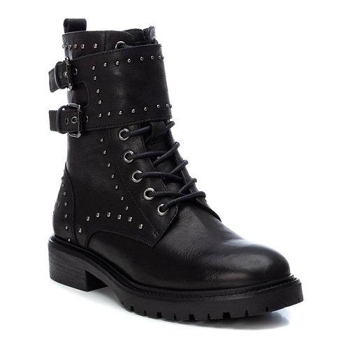 Carmela studded biker boot in black