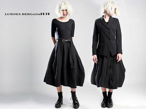 Lurdes Bergada linen skirt