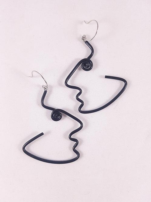 Samuel Coraux Profil earrings