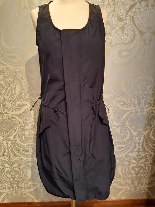 Rundholz  Black label dress - petrol coloured