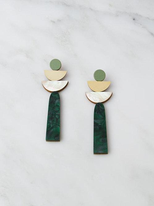 Wolf & Moon Selene Earrings
