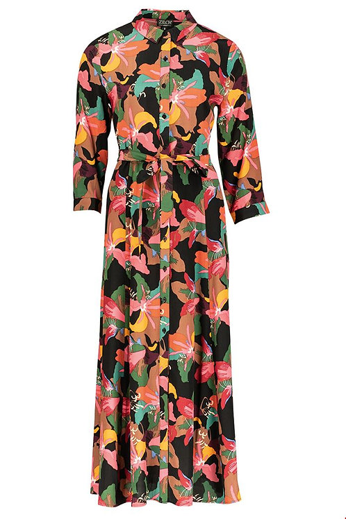 Zilch maxi shirt dress in floral print