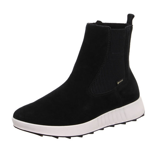 Legero Essence boot in black suede