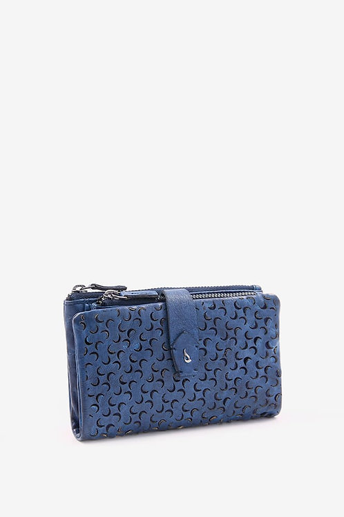 Abbacino Perforated Leather Purse
