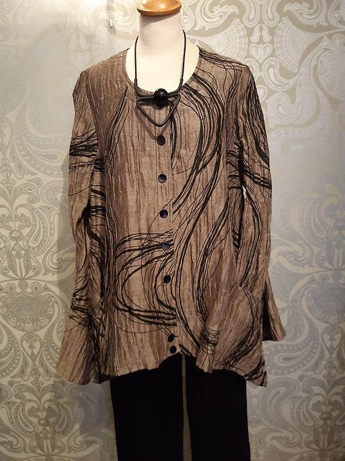 Ralston swirl trapeze shape blouse