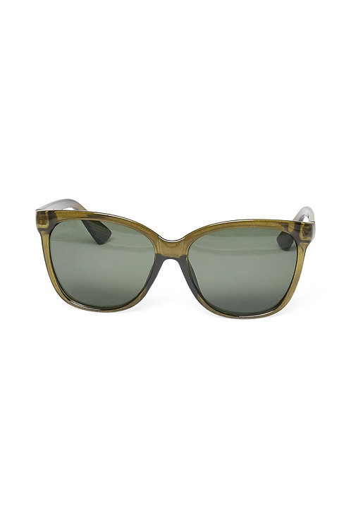 Part Two Green sunglasses