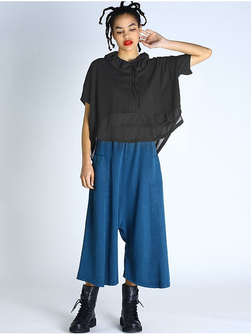 Lurdes Bergada oversized top with voile M20 802