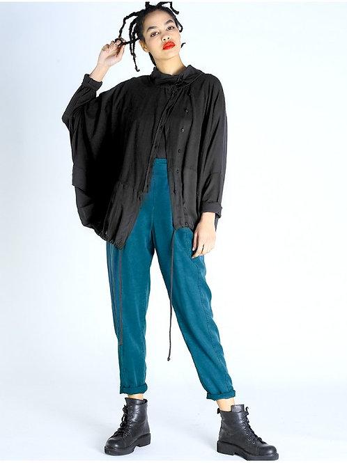 Lurdes Bergada oversized jacket with voile M20 803