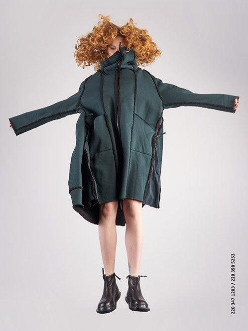 Rundholz  Black label reversible shearling coat