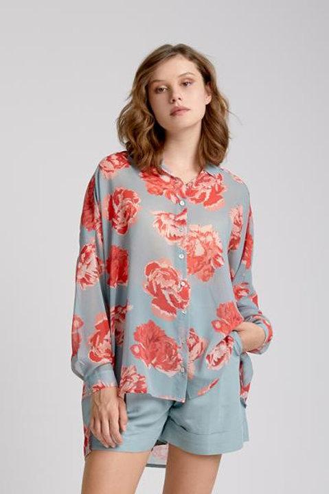Moutaki floral print blouse