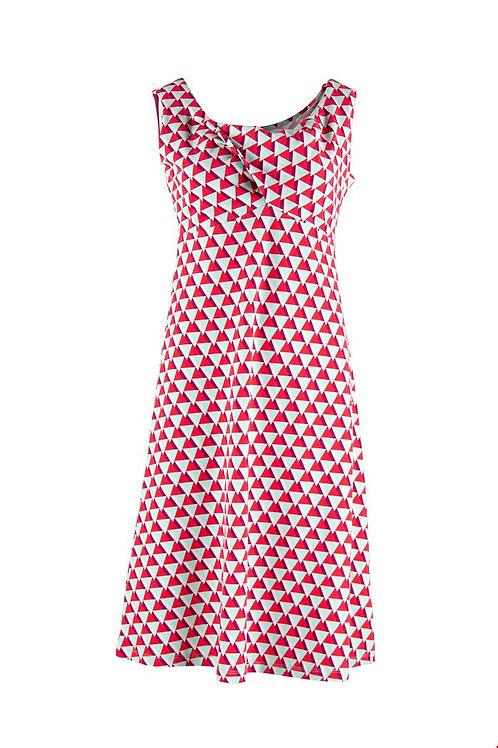 Zilch knot front cottton dress