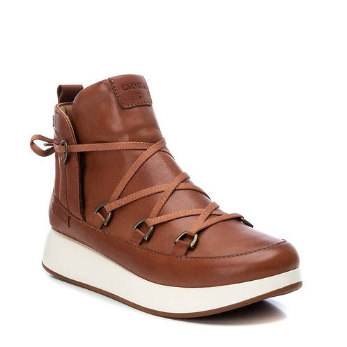Carmela sporty camel ankle boot