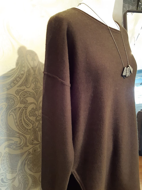 Part Two   Illysia  olive sweater