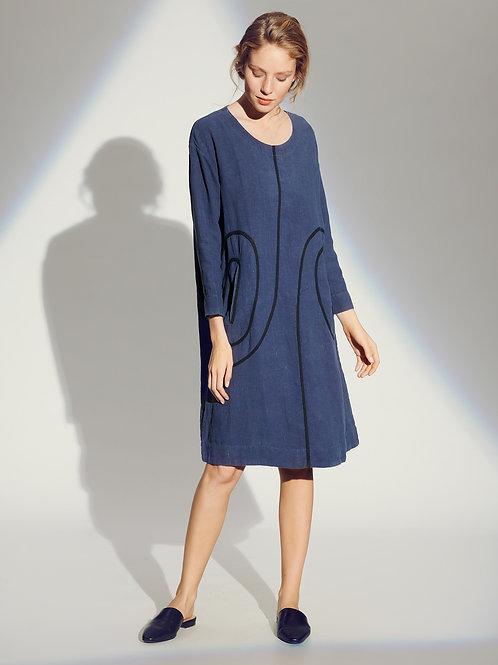 BKR Lazy Linen Dress