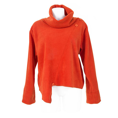 Quirqui Maria short fleece top