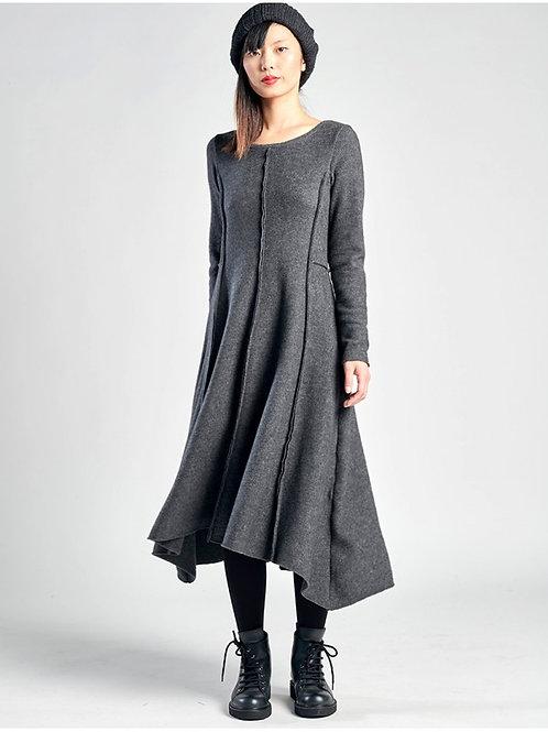 Lurdes Bergada fleece dress M20 853