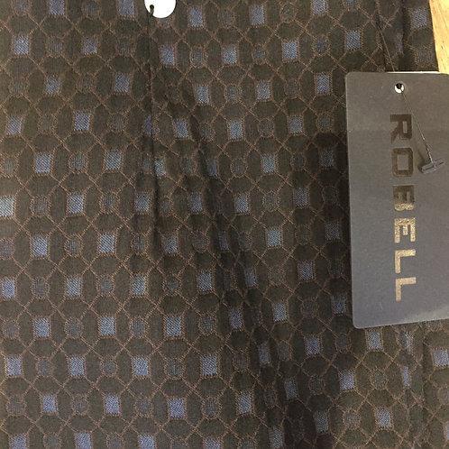 Robell geometric print trousers