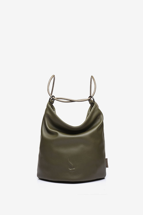 Abbacino Multiway Bag in Khaki PU