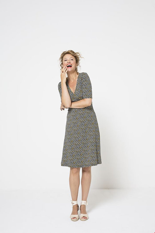 Zilch crossover front dress