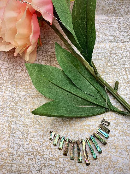 Emma Parker Jewellery Alicia Necklace Paua Shell