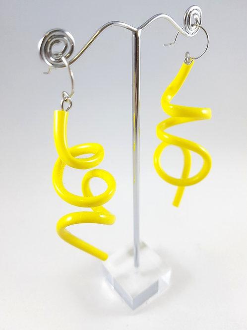 Samuel Coraux Squiggle earrings gloss