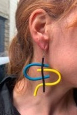 Samuel Coraux Tag earrings