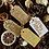 Thumbnail: Handmade Golden Assortment Present Tags (Pack of 12)
