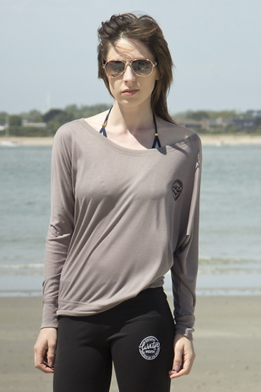 Water Worn Flowy Long Sleeve T-Shirt