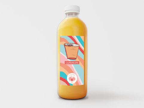 Etiqueta para botella