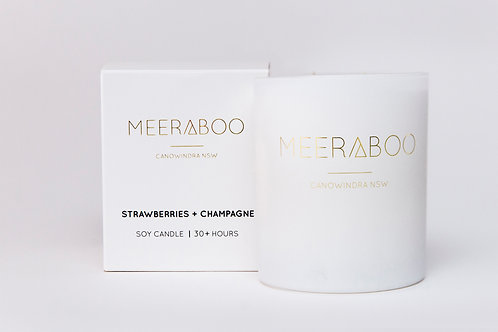 Strawberries + Champagne - WS