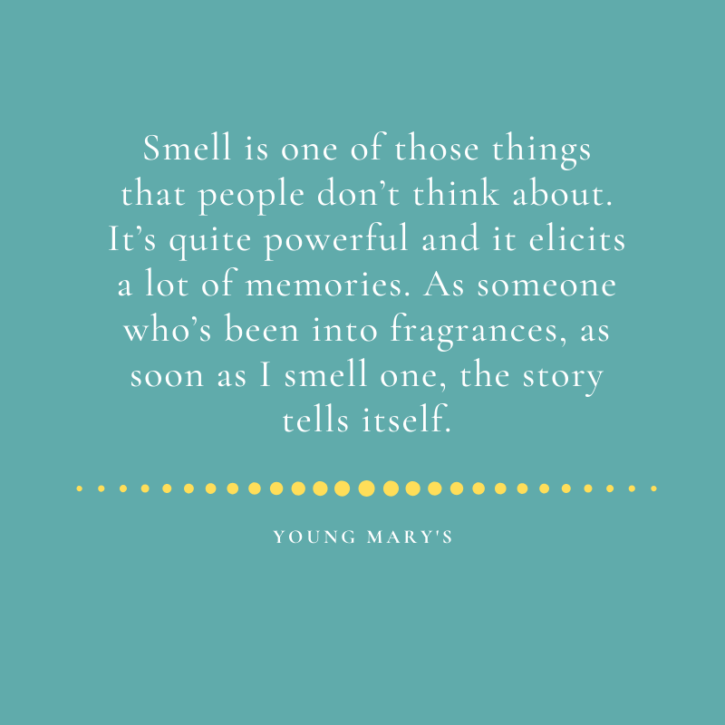 Quote from the UK Black owned subscription box vendor Young Mary's