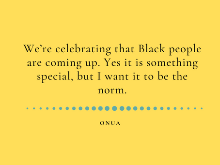 A Black business owner: ONUA behind the scenes
