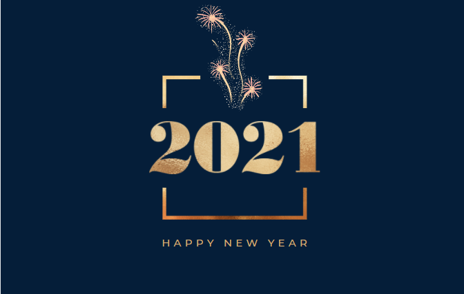 Image of 2021 - happy new year banner