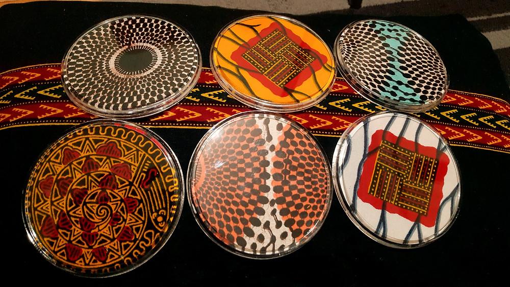 UK based subscription box, Ghanaian coasters from ONUA Home